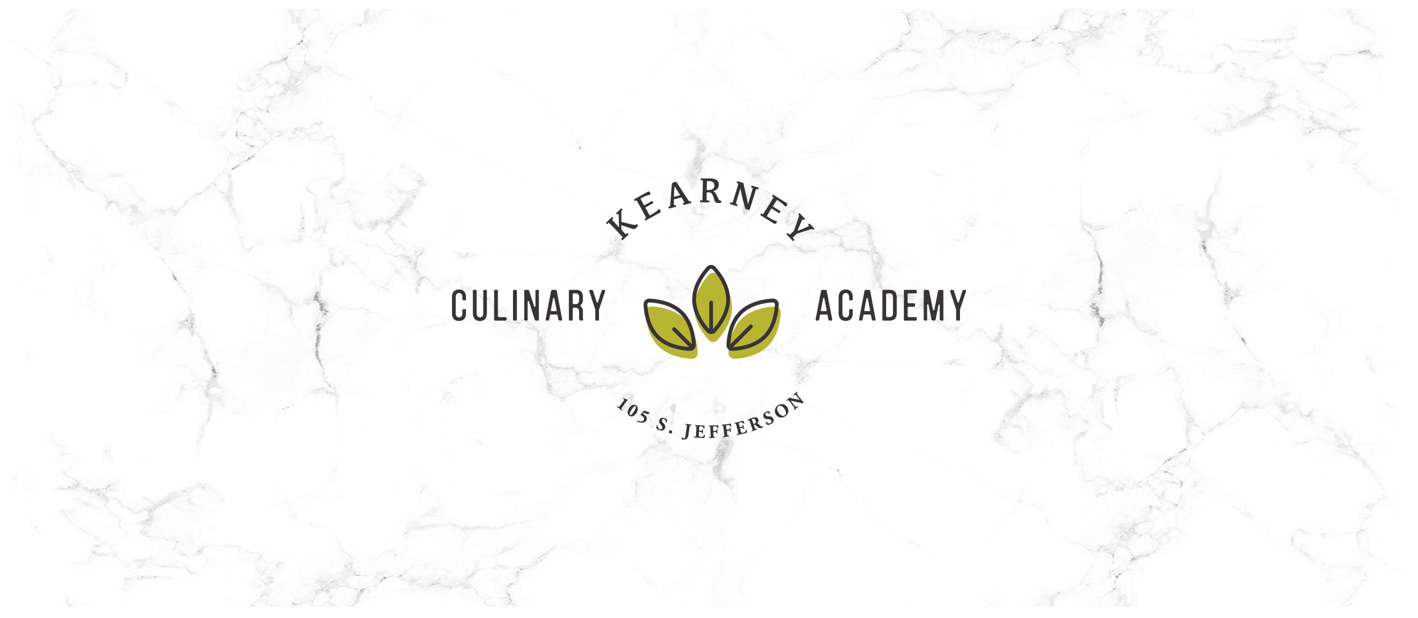 Kearney Culinary Academy Primary logo design